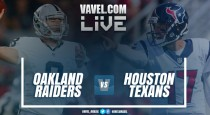 Resultado Houston Texans x Oakland Raiders pela NFL 2016/17 (24-14)