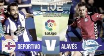 Resumen Deportivo de la Coruña 0-1 Deportivo Alavés en La Liga 2017
