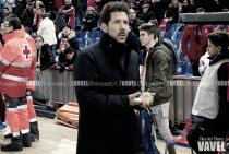 """Simeone: """"Le tenemos respeto a la Copa, históricamente es bonita para el Atleti"""""""