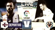 El Villarreal empata en Riazor con la versión más pragmática (0-0)