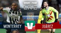 Resultado y goles del Monterrey 2-1 Juárez de la Copa MX 2017