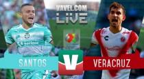 Resultado partido Santos vs Veracruz en Liga MX 2017 (2-1)
