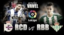 Previa Deportivo La Coruña - Real Betis: Definición de morbo