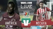 Resultado y goles del América 1-0 Necaxa de la Liga MX 2017
