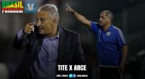 Tite x Francisco Arce: o que suas seleções apresentam taticamente nas Eliminatórias