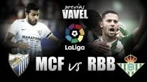 Previa Málaga CF - Real Betis: en busca de la felicidad