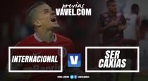 Internacional recebe Caxias em busca da primeira vitória no Campeonato Gaúcho