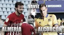 Previa UD Almería - AD Alcorcón: a vida o muerte