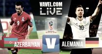 Resumen del Azerbaiyán vs Alemania en la Clasificación Mundial Rusia 2018