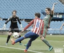 """Sonia Bermúdez: """"La afición del Atlético de Madrid es única y lo demuestra siempre"""""""