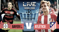 Resumen Bayer Leverkusen 2-4 Atlético de Madrid en Champions League 2017