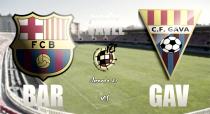 Previa FC Barcelona B - Gavà: a seguir con la racha