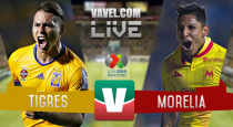 Resultado y goles del Tigres 1-1 Monarcas de la Liga MX 2017