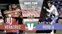Resultado y goles del partido Veracruz vs Puebla (3-2)