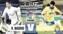 Partido Real Madrid vs UD Las Palmas en vivo y en directo online en La Liga 2017
