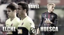 Elche CF - SD Huesca: en proceso de despegue