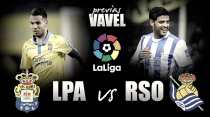 Previa UD Las Palmas - Real Sociedad: hora de reaccionar