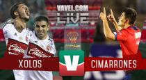 Resultado y goles del Xolos 2-1 Cimarrones de la Copa MX 2017