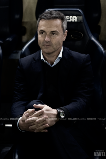 """Escribá: """"El partido es importantísimo en nuestras aspiraciones de jugar la próxima Liga de Campeones"""""""