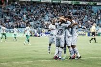 Grêmio volta a vencer com goleada sobre Juventude e assume vice-liderança