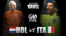 Previa Holanda - Italia: Ventura a por Holanda