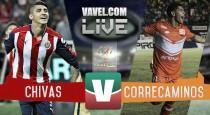 Resumen Chivas 2-2 Correcaminos en Copa MX 2017