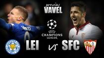 Com força máxima, Leicester decide vaga inédita contra Sevilla na UCL