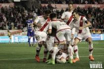 Sale la luz en Vallecas: victoria y goles