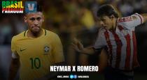 Neymar x Óscar Romero: a importância dos camisas 10 em suas seleções