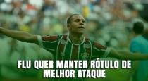 Fluminense quer manter rótulo de melhor ataque do Brasil na semifinal contra o Vasco