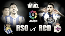 Real Sociedad - Deportivo de La Coruña: solo vale la victoria