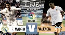 Resultado Real Madrid vs Valencia (2-1): El Madrid se aferra a la liga