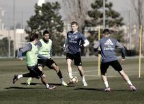 El equipo ya prepara el partido ante el Valencia