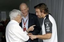 Bernie Ecclestone sugere nomes para vaga de Rosberg na Mercedes