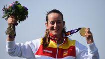 Medalla de oro para Fátima Gálvez en foso olímpico