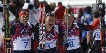 Ski de fond (H) : Triplé russe sur le 50km