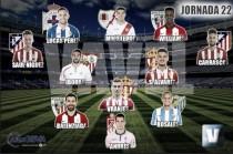 El Once de Oro de VAVEL: 22ª jornada de la Liga BBVA