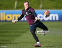 "Sunderland's Jordan Pickford looking to ""come back flying"" in Under-21's return"