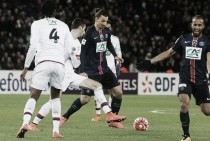Zlatan Ibrahimovic marca duas vezes e PSG elimina Lyon da Copa da França