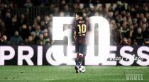 50 veces Messi