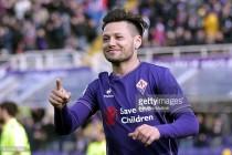 Watford on verge of signing Fiorentina striker Mauro Zarate