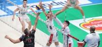 La Diatec Trentino supera la Lube ed è la seconda finalista di Coppa Italia