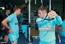 Aaron Cresswell delighted by return to training after knee injury