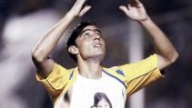 Un divino gol ante Morelia