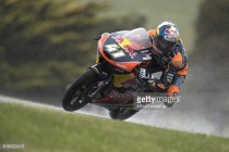 Binder on Moto3 pole as Qualifying at Phillip Island was red-flagged