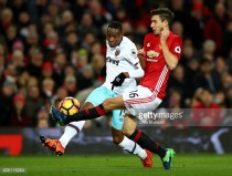 West Ham United's Diafra Sakho ruled out for six weeks