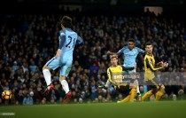 Manchester City 2-1 Arsenal: City topple insipid Arsenal - as it happened