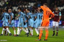 West Ham United 0-5 Manchester City: Hapless Hammers knocked out by sinsilating City