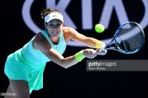 Australian Open: Injured Garbine Muguruza struggles past Marina Erakovic
