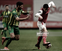 Braga assalta o pódio: arsenalistas batem Tondela (2-0)